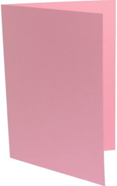 90 Doppelkarten DIN A6 Rosa B003KVZD80   | Zahlreiche In Vielfalt