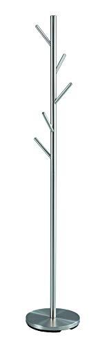 Aspect Manolo–Perchero de pie/Soporte, Metal, Plata, 30x 30x 170cm