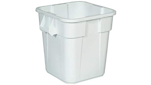 Rubbermaid Commercial Products 151.4L BRUTE Square Container - White