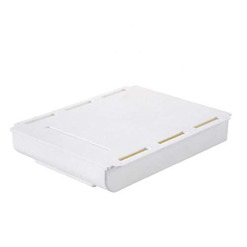 Yililay Una Caja de almacenaje del cajón, una Caja de Almacenamiento de Tipo cajón, un cajón Debajo de la Mesa, una Bandeja autoadhesiva, una Auto-Adhesivo, para el hogar Escuela de la Oficina