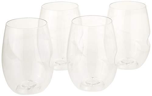 govino Wein Glas Flexible bruchsicher recycelbar, Set 4