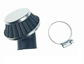 Luftfilter Dirtbike Quad Pocketbike Luftfilter - mit Stutzen 36mm - ca 45° Winkel Universal Luftfilter + Luftfilterstutzen
