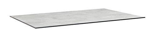KETTLER Advantage Esstische HPL-Tischplatte 160 x 95 cm, grau