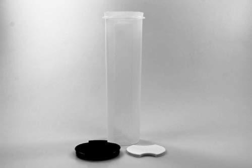 Tupperware Circular 1,1L schwarz mit Dosiereinsatz Rondovision Trockenvorrat Vorrat
