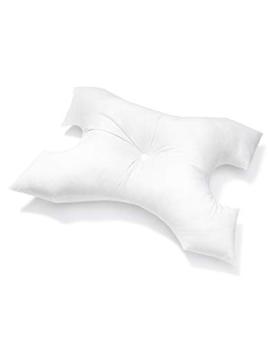 CPAP Pillow by Pillows with a Purpose - Standard Size - Unqiue Design with Contoured Cut-Outs - Hypoallergenic with Cover Included