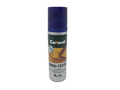 Collonil NUB.+TEXTILE CL.DFNL 100 ml , Schuhcreme & Pflegeprodukte, Bleu foncé