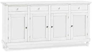 InHouse srls Aprador 4 Puertas Estilo clásico Madera Maciza y MDF -196X43X98H 100% Made in Italy …