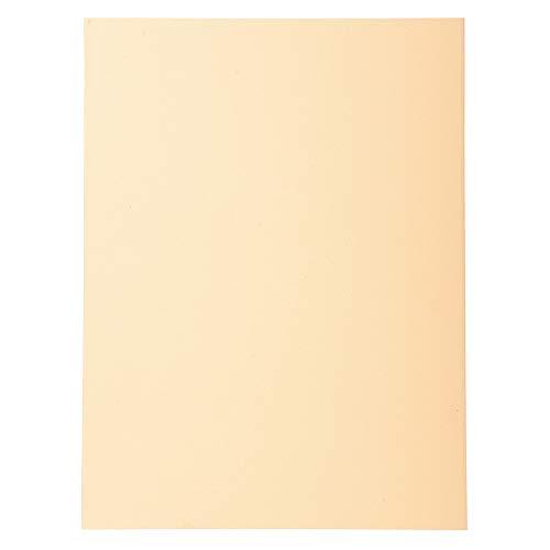 Exacompta 420002E - Lote de 100 Subcarpetas Forever® 180, Color Crema