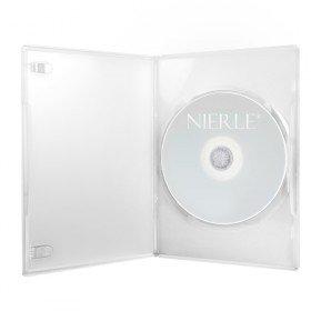 Amaray Boitiers DVD, Slim 7 mm, Transparent, 100 pièces