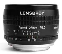 Lensbaby Velvet 28 for Canon EF