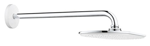 Grohe Rainshower metalen douchekop Moon wit