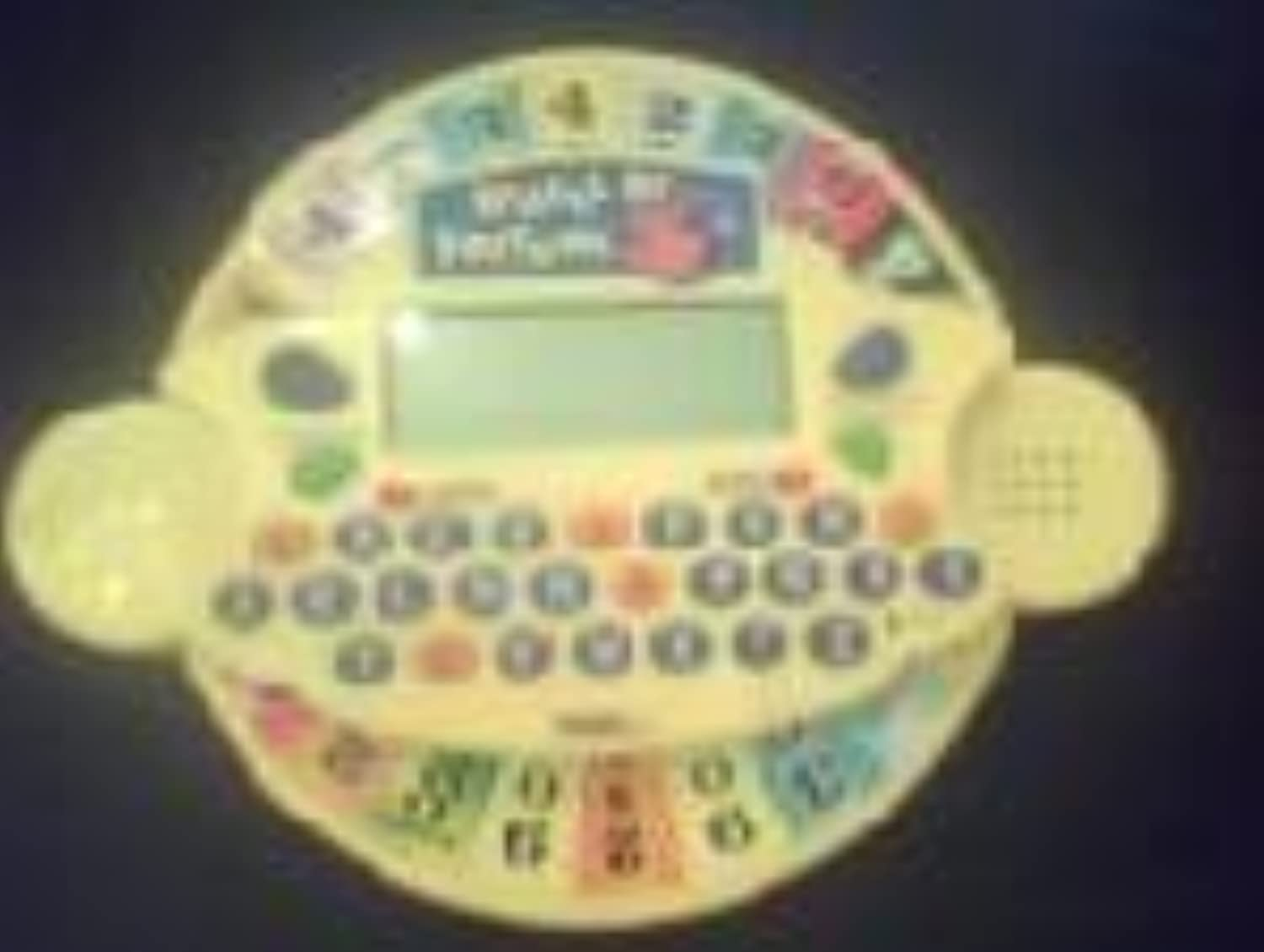 Wheel of Fortune Jr. Electronic Hand-held Game by Unknown