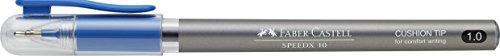 Faber-Castell 546451 - Kugelschreiber Speedx, Mine M, blau