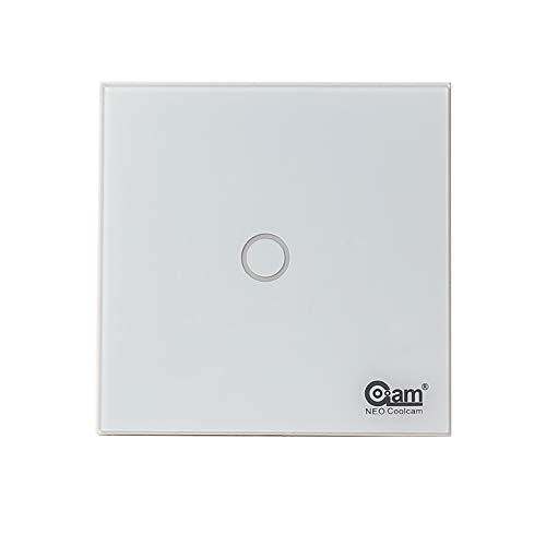 Z-Wave Plus - Lámpara de pared con interruptor táctil compatible con serie 300 y 500