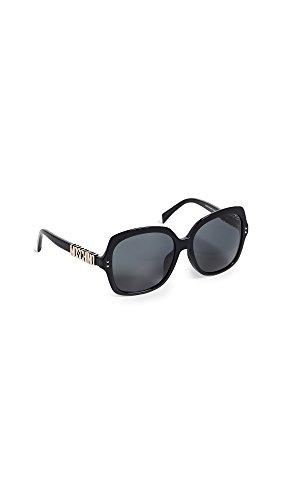 Moschino Women's Logo Full Rim Sunglasses mos 014 fs