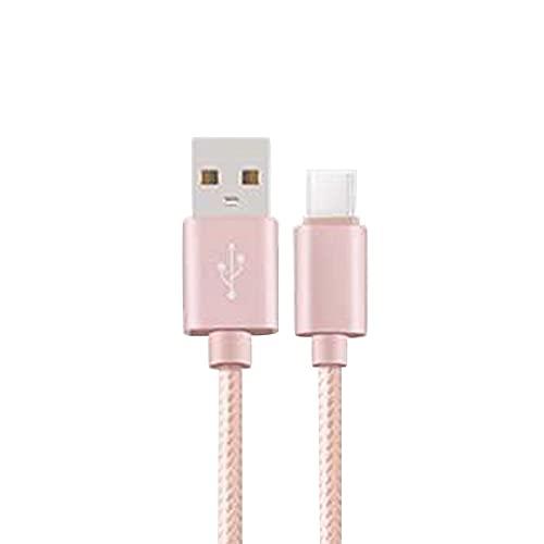 4本セット 1m+1.5m+2m+3m iPhone ライトニング Lighting Type-C MicroUSB Android 充電ケーブル 急速充電 Type-C,ピンク