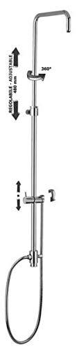 ZCOL600CRX Colonna doccia regolabile MINI MASTER con deviatore PAFFONI