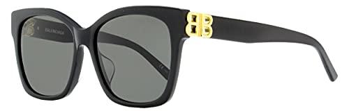 balenciaga occhiali Occhiali da Sole Balenciaga BB0102SA Black/Grey 57/16/145 donna