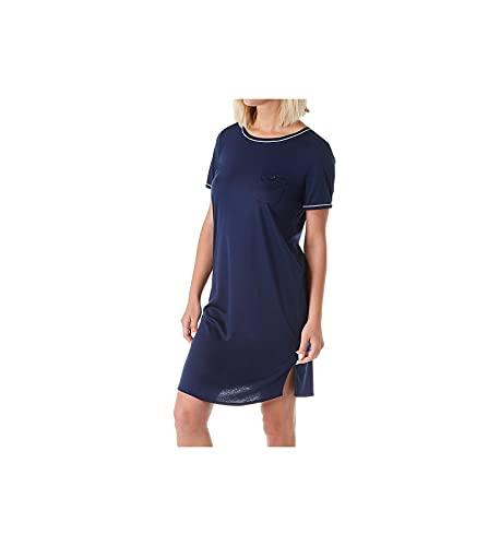 CALIDA Damen Sweet Dreams Brusttasche Nachthemd, Peacoat Blue, 40