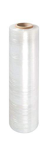 Rollo De Película Transparente De Embalaje Multiusos, 400 Mm X 240 M X 17 Micras