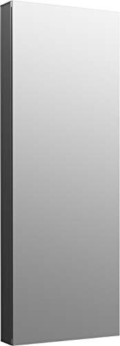 Kohler K-81147-DA1 Maxstow Frameless Surface Mount Bathroom Medicine Cabinet, 15' x 40', Dark Anodized Aluminum