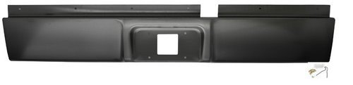 IPCW CWRS-02DG Dodge Pickup/RAM Steel Roll Pan with License Plate Hole and Light