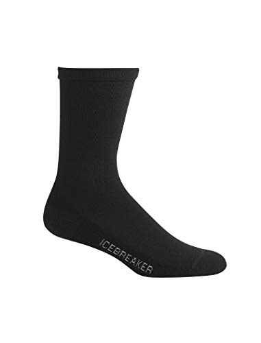 Icebreaker Damen Socken Lifestyle Light Crew, Black, M, IBN313001