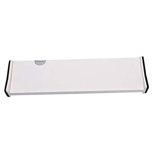 Yagosodee Separador de cajones retráctil ajustable para el hogar, separador de cajones extensible para cocina, dormitorio, oficina (estilo largo)