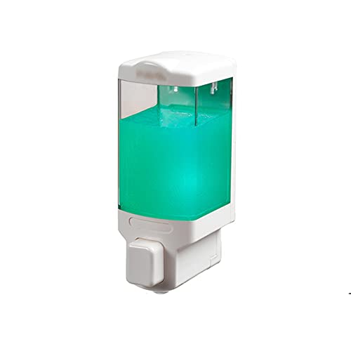 Soporte para jabón de manos y líquido para platos Dispensador de jabón manual non-perforado de pared Dispensador del hotel Cocina doméstica El dispensador de jabón de la cocina se puede rellenar (480m
