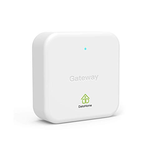 DATO Wi-Fi Gateway for Door Lock - WiFi Bridge for Keyless Entry Electronic Door Lock, Remote Control Smart Hub, Compatible with Alexa