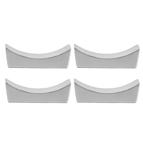 Les-Theresa 4 Piezas de Acero Inoxidable Palillos Resto Forma de Barco Palillos Cuchara Cuchillo Tenedor Cubiertos