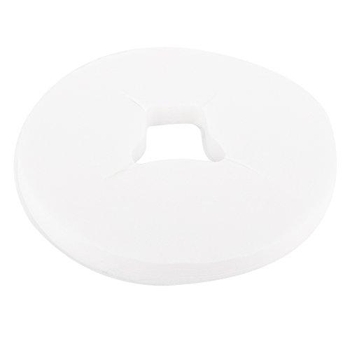 100 Unids almohadilla de masaje facial desechable salon spa cojín almohada tela no tejida cara agujero cubiertas