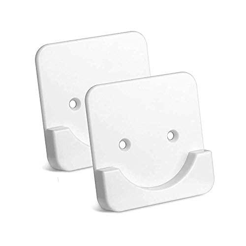 Durable ABS montaje en pared Ultra fuerte fijación ducha varilla titular baño sin perforación barra de cortina adhesiva (blanco)