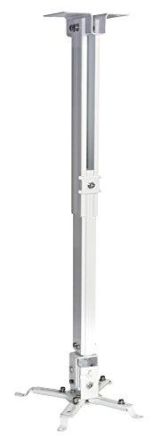 Inotek PCM400-43-65 universele beamer plafondhouder voor beamer, mat, verstelbaar van 43 cm tot 65 cm, zilver