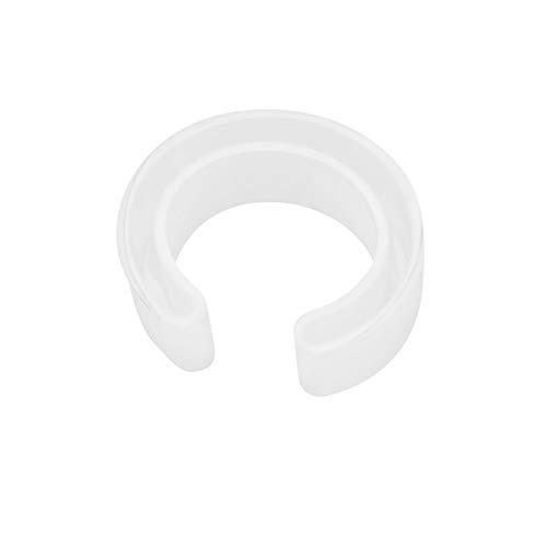 Evonecy Molde de Pulsera, Molde de Brazalete de Espejo Completo, para Hacer Colgantes Suaves, Herramienta de Bricolaje para fundición de Silicona de Brazalete de Resina