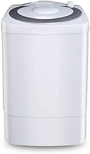 GEETAC Pequeña lavadora uso en el hogar 7KG gran capacidad mini barril semiautomático Dis y Elution en uno adecuado para apartamentos, dormitorio