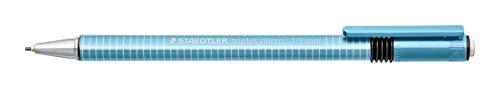 STAEDTLER 774 13-30 triplus micro ergonomischer Durckbleistift (dreikantig, zum Schreiben mit extra breiter Mine, Linienbreite 1,3 mm) Schaftfarbe hellblau
