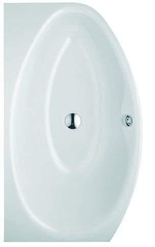 Bette Pool II Badewanne 6054, 164x96cm, Links, Farbe: Weiß