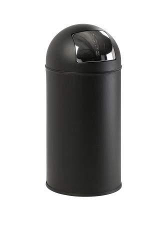 Eko - Poubelle Pushbin - 40 litres - Noir Mat