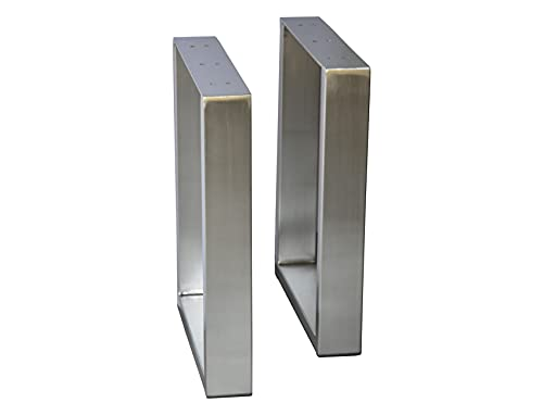 Alpha Furnishings Coffee Table Legs Metal Legs U-Shape Furniture Legs 16