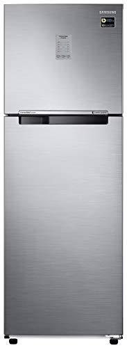 Samsung 275 L 2 Star Inverter Frost-Free Double Door Refrigerator (RT30T3722S8/HL, Elegant Inox, Convertible)