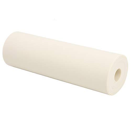 DAUERHAFT Banda de Caza para catapulta Fácil de Usar 0,75 mm 2 m Blanco como la Leche Resistente a la abrasión, para Yoga en casa, Correa de Repuesto