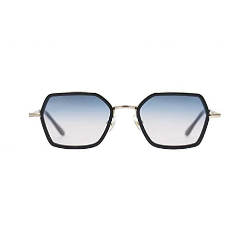 Kyme Sunglasses Ben 50 20 145 Various Colors 02 Black Gold Blue Gradient To Pink