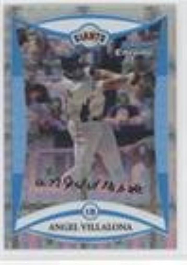 Angel Villalona #57/199 (Baseball Card) 2008 Bowman Draft Picks & Prospects - Prospects - Chrome X-Fractor #BDPP107