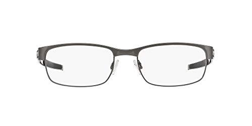 Oakley Rx Eyewear Für Mann Ox5038 Metal Plate Brushed Chrome Titangestell Brillen, 55mm