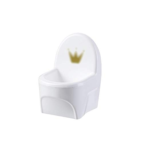 xinxinchaoshi Jabonera Caja de jabón de Forma Creativa con Orificio de Drenaje y contenedor de Agua, baño de jabón de plástico de baño, como Regalo para los Amigos Bandeja de jabón