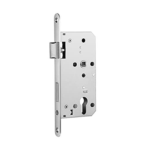 Cerradura de mortaja de puerta, piezas de repuesto de cerradura de puerta de acero inoxidable para baño y hogar