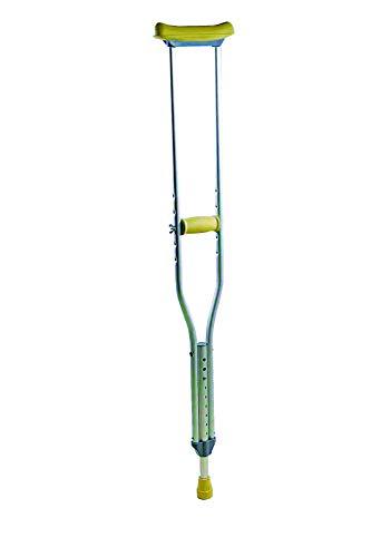 Achselgehstütze Achselstütze höhenverstellbar 134-154cm, Aluminium, 1 Stück