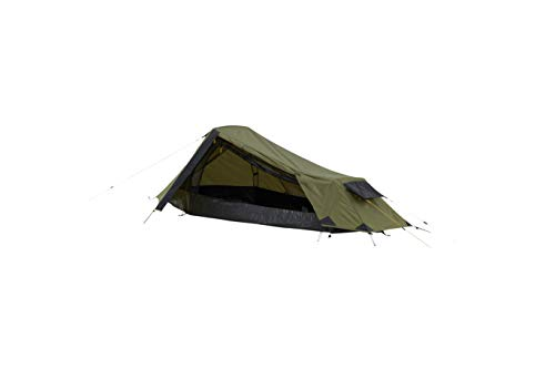 Grand Canyon RICHMOND 1 - tenda a tunnel per 1 persona | ultraleggero, impermeabile, formato piccolo pacchetto | tenda per il trekking, campeggio, all'aperto | Capulet Olive (verde)