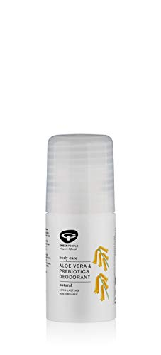 Green people - Desodorante natural con aloe vera y Prebiótico, 75 ml